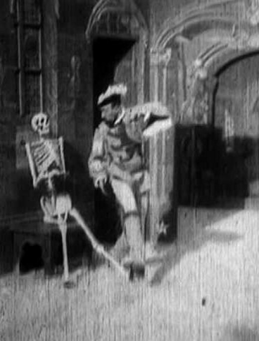 "Georges Melies' 1896 film ""Le Manoir Du Diable"" or  ""The House Of The Devil""."