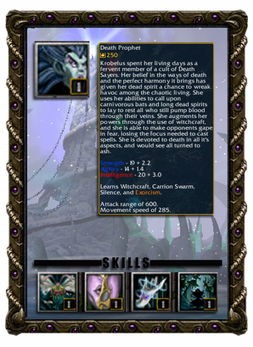 Krobelus the Death Prophet Profile