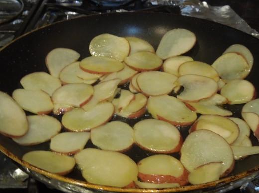 Cooking potato