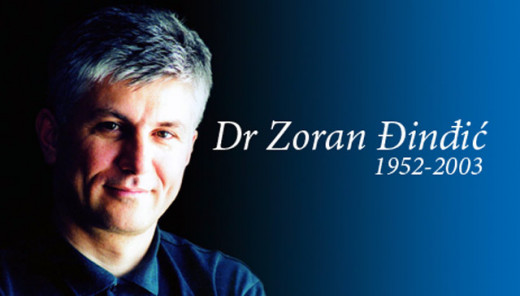 "ZORAN DJINDJIC - the visionary and the ""forever best politician"" of modern Serbia."