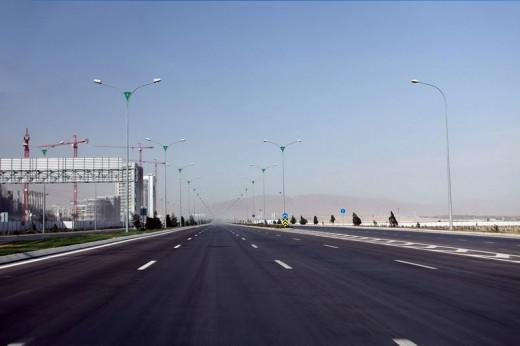 Ashgabat  city streets