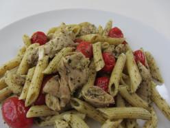 Pesto Penne Chicken Salad