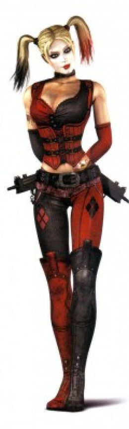 Harley Quinn Costume in Batman: Arkham City Video Game