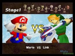 Epic Link vs. Mario