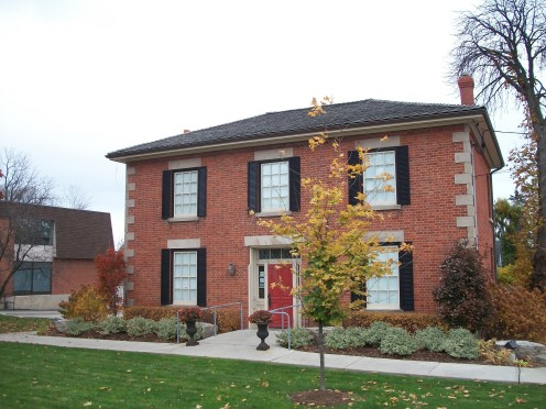 Former Rectory of the parish church of St Peter, Erindale, Mississauga, Ontario