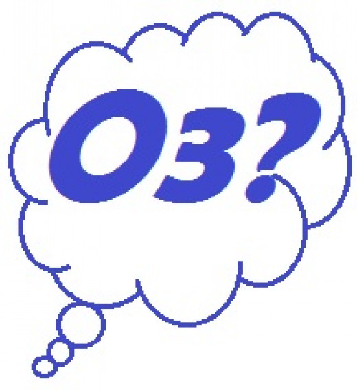 o3 is the chemical symbol for ozone.  It describes the chemical make up of ozone as three oxygen molecules.