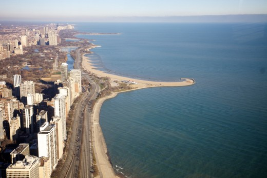 Aerial View - Part of Lake Shore Drive