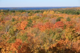 Door County, WI in the fall