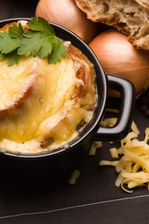 French Onion Soup Image: © joanna wnuk - Depositphotos.com