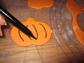 Edible markers are a great way to add final touches and detail to fondant.