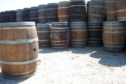 These are not the exact woodstave barrels that Molson's used but these would be similar.