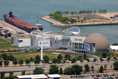 Great Lakes Science Center in Cleveland, Ohio.