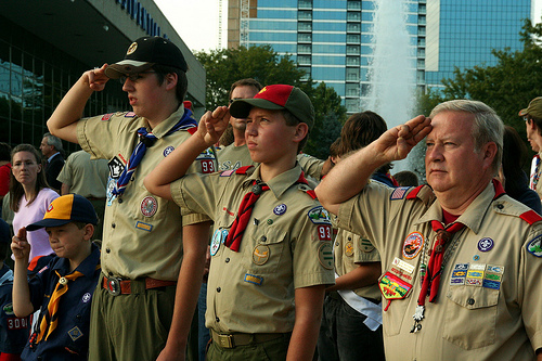 Boy Scouts is an organization that can surround your boys with positive male role models.