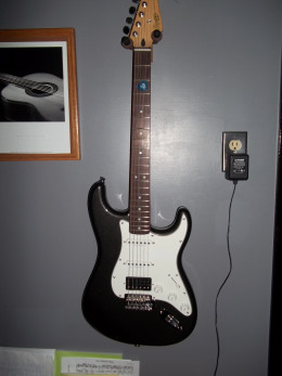 My first electric guitar, and a real beauty.