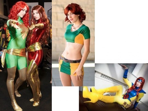Cosplay Jean Grey Costumes