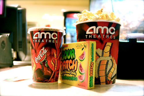 A mini meal deal at the AMC.