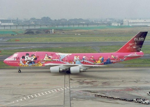 What a FUN plane to fly on! I just wish the INSIDE had this same paint scheme! :)