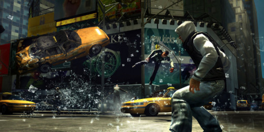 Screen shot from Prototype 2
