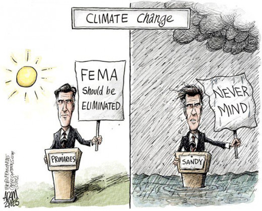 Ever the Flip flop artist, Willard Mitt Romney