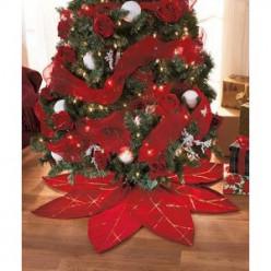 Festive Christmas Tree Skirts For Under $25