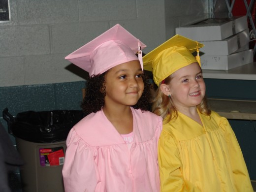 Preschoolers prepare to graduate