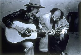 Bob Dylan and Allen Ginsberg