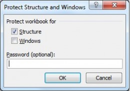 Protect the workbook to stop users unhiding sheets