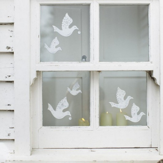 Dove Window Clings