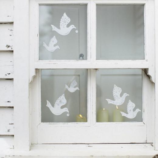 Dove Window Clings