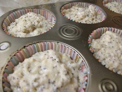 Lemon Poppy Seed Muffins Before Baking