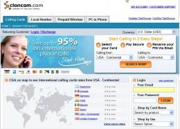 Cloncom Website