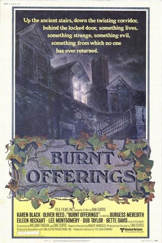 Burnt Offerings (1976) poster