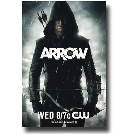 Stephen Amell in Arrow.