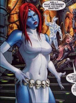 Mystique Classic Costume Skull Belt