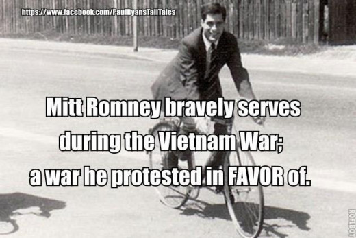 In France, Mitt Romney out of the draft, he might catch a bullet.
