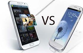 Battle of the Samsung Galaxy - Note 2 vs S3
