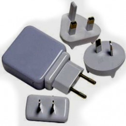Example of an electrical outlet adaptor