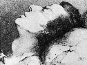 Chopin on his death bed