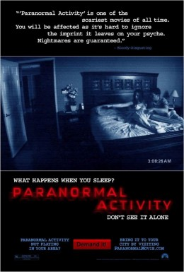 Paranormal Activity (2009) poster