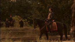"""As Guy of Gisborne in BBC TV's """"Robin Hood"""""""