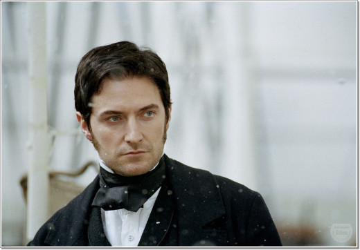 "As John Thornton in the BBC's adaptation of Elizabeth Gaskell's novel, ""North and South"""