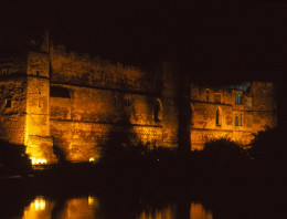 Newark Castle at Night