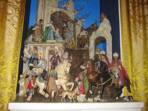 Nativity Scene in the White House