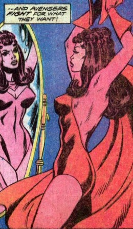 Scarlet Witch Costume Change