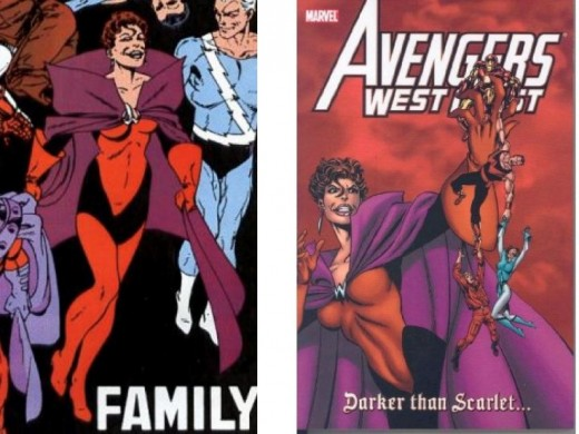 Scarlet Witch Brotherhood of Evil Mutants