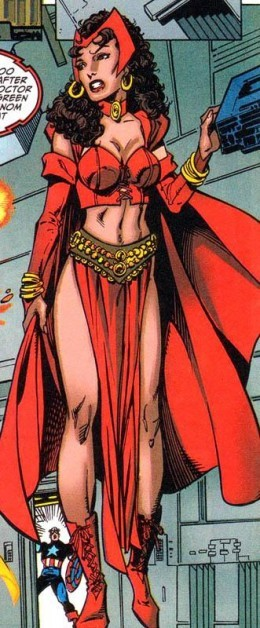 Scarlet Witch Gypsy Costume