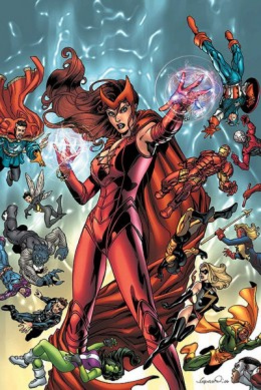 Scarlet Witch House of M Costume