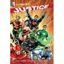 Justice League Volume 1: Origin (2012): Comic Book Review