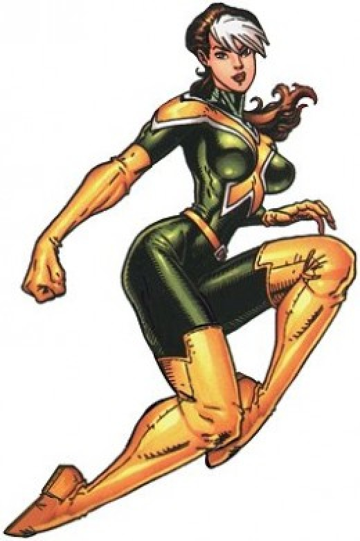 Rogue New Green and Yellow X-Men Uniform