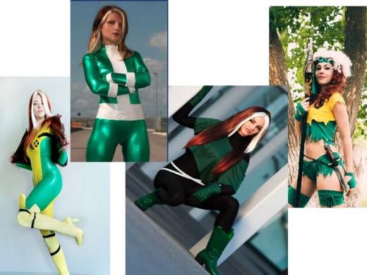 Rogue Cosplay Costumes  sc 1 st  HobbyLark & Rogue Costume History | HobbyLark